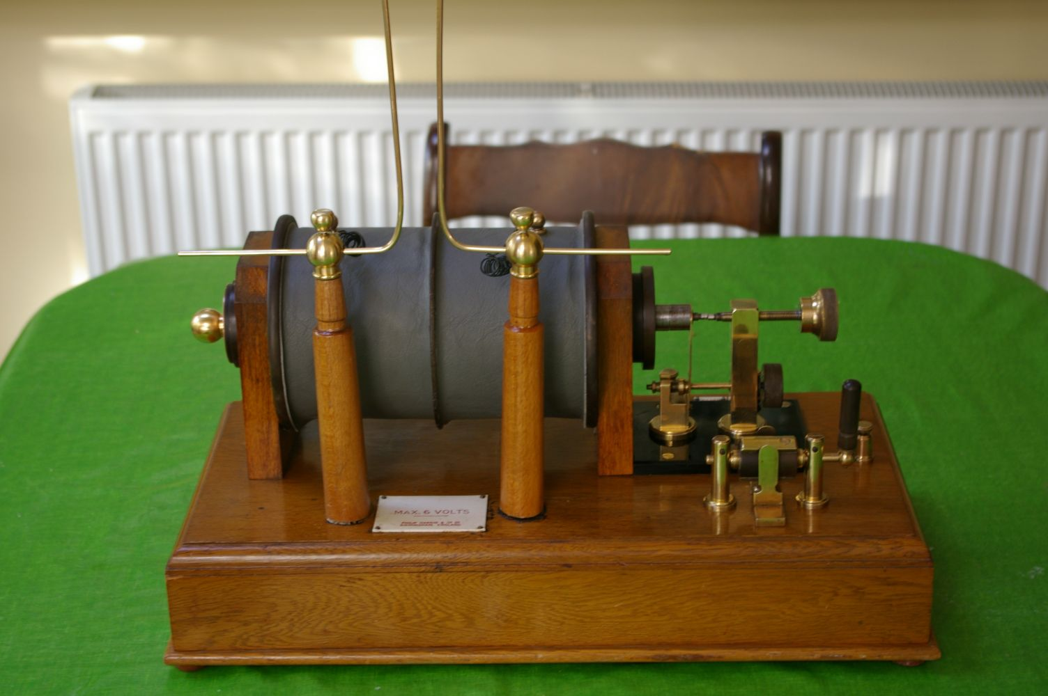 The Ruhmkorff Induction Coil
